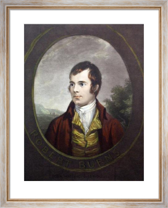 Robert Burns (Restrike Etching) by Alex Nasmyth