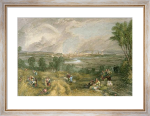 Oxford from North Hinksey Hill (Restrike Etching) by Joseph Mallord William Turner