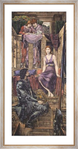 King Cophetua (Restrike Etching) by Sir Edward Burne-Jones