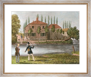 Fly Fishing (Restrike Etching) by James Pollard