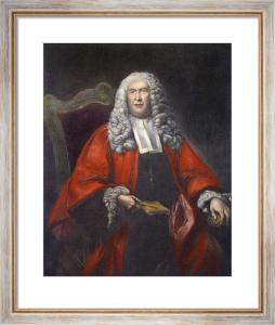 Sir William Blackstone (Restrike Etching) by Sir Joshua Reynolds