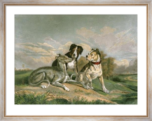 The Boasting Hound (Restrike Etching) by Sir Edwin Henry Landseer