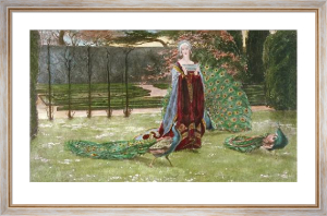 My Lady's Garden (Restrike Etching) by Young Hunter
