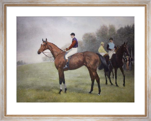 Diamond Jubilee (With Rider) (Restrike Etching) by Samuel J. E. Jones