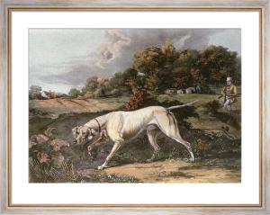 September (Dog) (Restrike Etching) by Francis Calcraft Turner