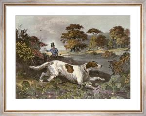 October (Dog) (Restrike Etching) by Francis Calcraft Turner