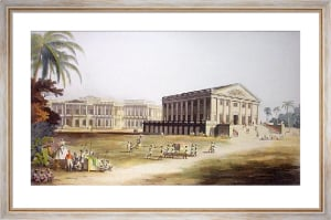 Government House Madras (Restrike Etching) by Edward Orme