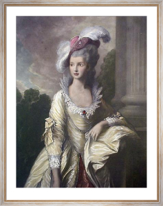 Mrs. Graham (Restrike Etching) by Thomas Gainsborough