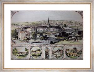 Stratford on Avon (1864) (Restrike Etching) by Sulman