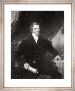 Thomas Lord Denman (Restrike Etching) by Thomas Barber