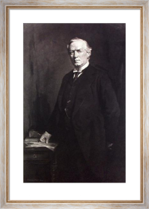R.H.H Asquith (Restrike Etching) by Fiddes Watt
