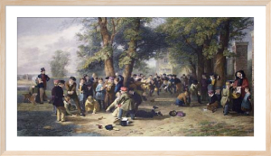 The Playground (Restrike Etching) by Thomas Webster