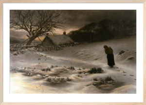 Homeward (Restrike Etching) by Joseph Farquharson