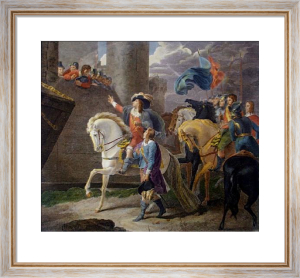 The Siege of Hull (Restrike Etching) by Thomas Stothard