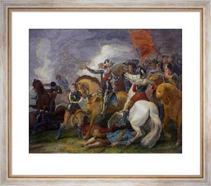 Battle of EdgeHill (Restrike Etching) by Thomas Stothard
