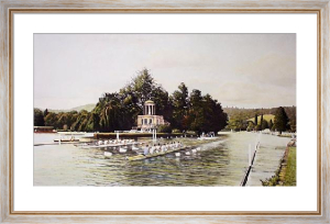 Henley Royal Regatta (Restrike Etching) by William Bishop