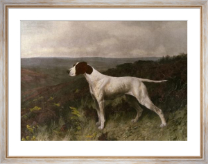Pointer of The 20th Century (Restrike Etching) by Arthur Wardle