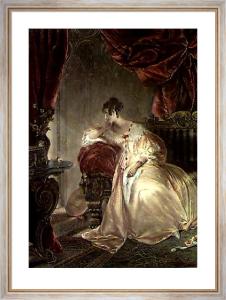 Bridesmaid (Restrike Etching) by Edmund Thomas Parris