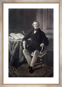 George Finch (Restrike Etching) by Samuel Laurence