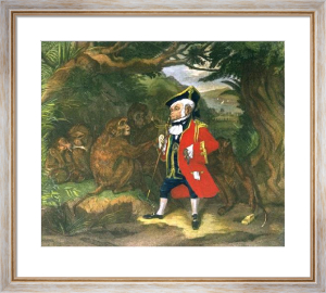 The Travelled Monkey (Restrike Etching) by Sir Edwin Henry Landseer