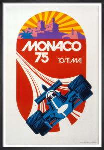 Monaco Grand Prix 1975 by R. Hugon