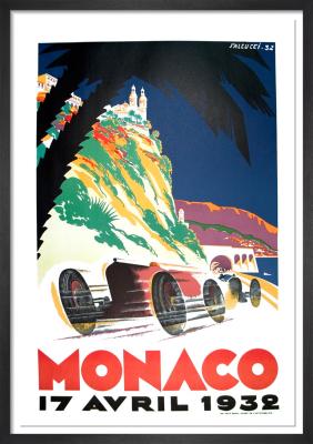 Monaco Grand Prix, 1932 by Robert Falcucci