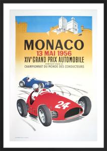 Monaco Grand Prix 1956 by J. Ramel