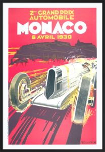 Monaco Grand Prix, 1930 by Robert Falcucci