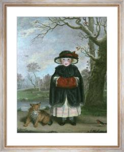 Lady Caroline Montague (Restrike Etching) by Sir Joshua Reynolds