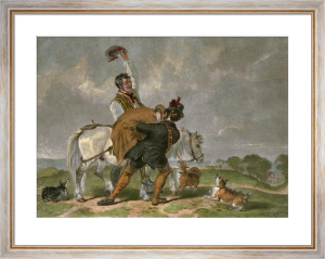 Independant Voter (Restrike Etching) by Robert William Buss