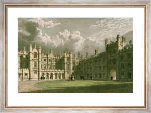 Trinity College, Cambridge (Restrike Etching) by Frederick MacKenzie