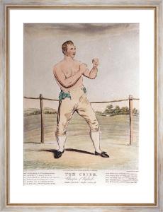 Tom Cribb (Restrike Etching) by John Jackson
