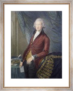 William Pitt (Restrike Etching) by G. Dupont