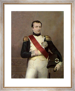 Napoleon (Restrike Etching) by Count d'Orsay