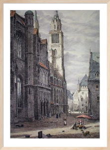 Nurnberg (Restrike Etching) by W.A. Rimington