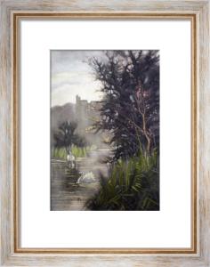 Arundel Castle (Restrike Etching) by Sidney Pike