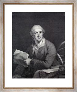 David Garrick (Restrike Etching) by Robert Edge Pine