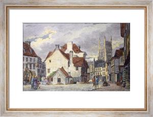 Cirencester (Restrike Etching) by John Burden
