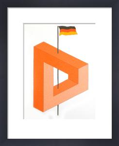 Tyskland by Oscar Reutersvärd