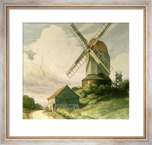 Windmill (Restrike Etching) by Herbert Thomas Dicksee
