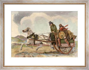 Drogheda to Dundalk (Restrike Etching) by Scanlon
