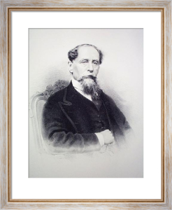 Charles Dickens (Restrike Etching) by Anonymous