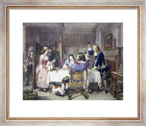 Nell Gwynne (Restrike Etching) by Charles Landseer