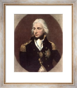 Lord Nelson (Restrike Etching) by Sir Thomas Lawrence