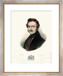 Prince Albert (Restrike Etching) by Sir William Charles Ross
