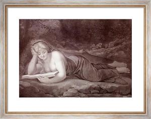 Diva Magdalene (Restrike Etching) by Coregio