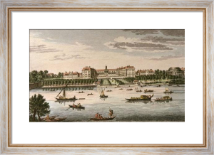 Royal Hospital Chelsea and Rotunda (Restrike Etching) by Anonymous