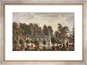 Orangery, Chiswick (Restrike Etching) by Rysbrake