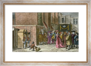 St James Palace, Garden Entrance (Restrike Etching) by Anonymous