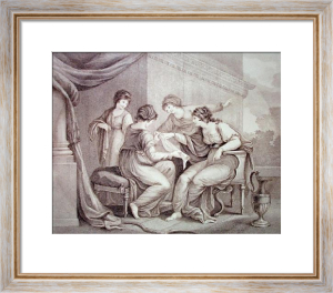 Penelope (Restrike Etching) by Angelica Kauffmann